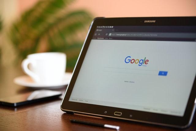 ordinateur et google